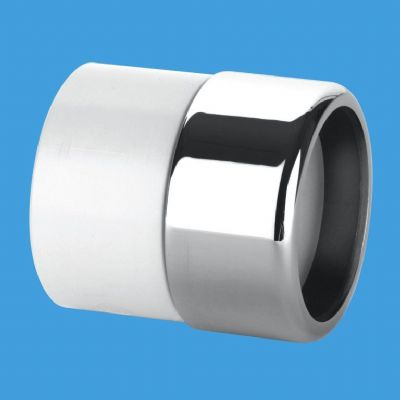 32mm / 35mm Chrome to 1.1/4 Solvent Weld Pipe - 68028064